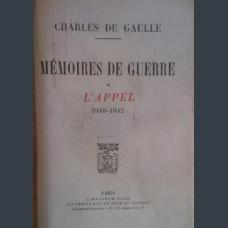 Charles de Gaulle- Memoires de guerre 1940-1942