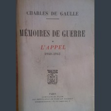 Шарл Дьо Гол, Charles de Gaulle- Memoires de guerre 1940-1942