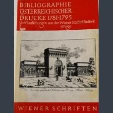 Библиография на австрийските издания