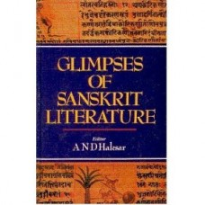 Glimpses of Sanskrit Literature