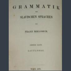 Grammatik der slavischen sprachen