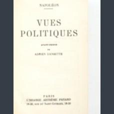 Napoléon. Vues Politiques Description du livre