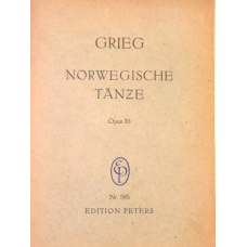 Grieg, Edvard Norwegian Dances, Op. 35