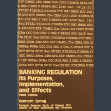 Banking Regulation: Kenneth Spong