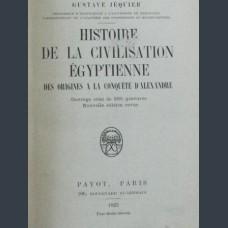 Jequier, G. Histoire De La Civilisation Egyptienne